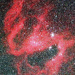 Detail of N119 in the Large Magellanic Cloud