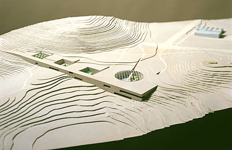 Architect's Model of the Paranal Complex