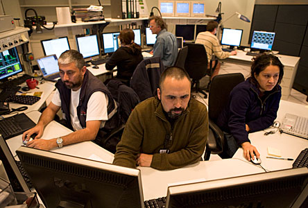 VLTI control room