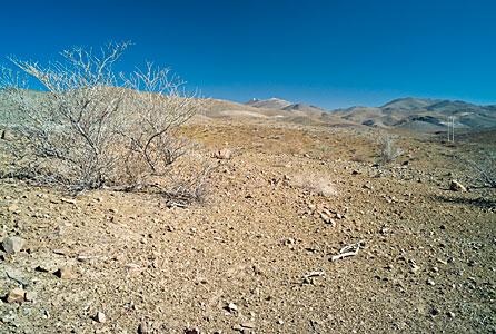 La Silla in the desert