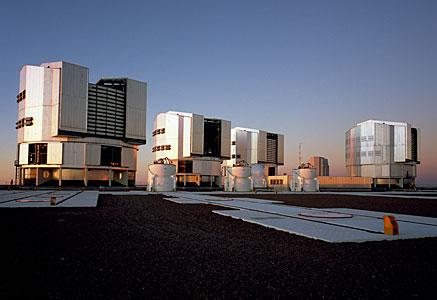 Teleskopplattform auf dem Paranal - 2007