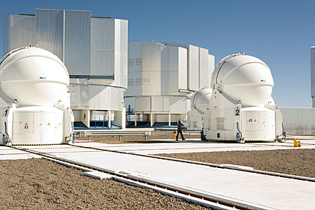 The Paranal observing platform in Chile