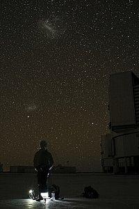 Astronomer at Paranal
