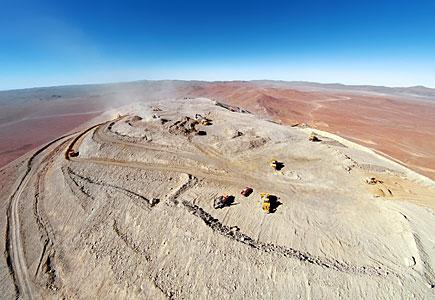The peak of Cerro Armazones