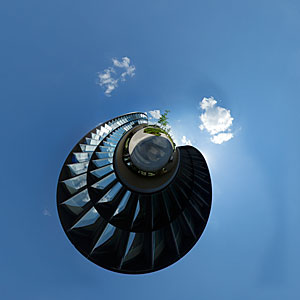 The little planet of the ESO Headquarters