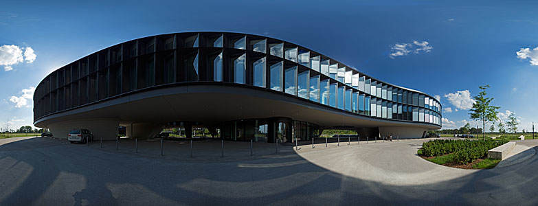 360-degree panorama of the ESO Headquarters