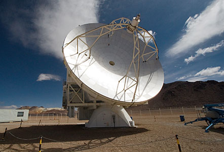 APEX, the Atacama Pathfinder Experiment, on Chajnantor