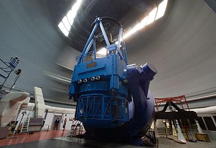 The ESO 3.6-metre telescope at La Silla