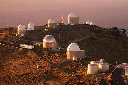 La Silla telescope ring