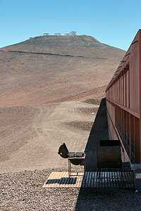 High-noon at Paranal
