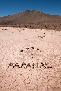 Paranal in Pebbles