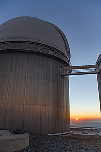 The dome of ESO's 3.6-metre telescope at La Silla