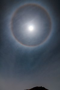 Halo over Paranal