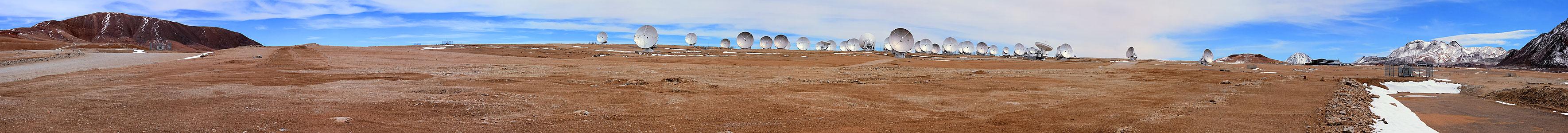 ALMA Antennas Panorama