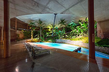 La Residencia's pool
