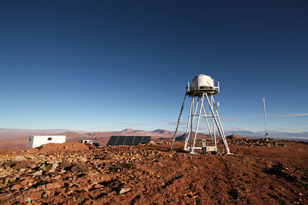 E-ELT site testing - Cerro Macon / Argentina
