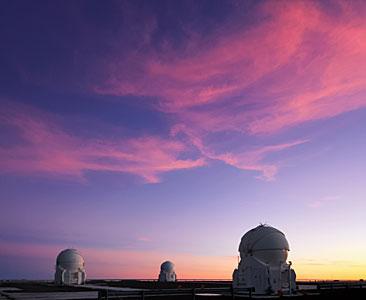 Sunset at Paranal