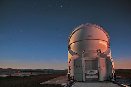 Auxiliary Telescope on Paranal
