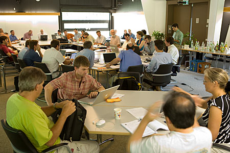 PRIMA-Meeting in Garching