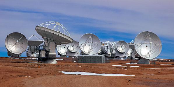A Collection of ALMA Antennas