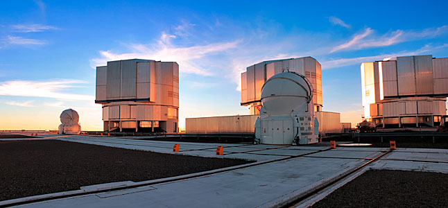 ESO's Very Large Telescope (VLT)