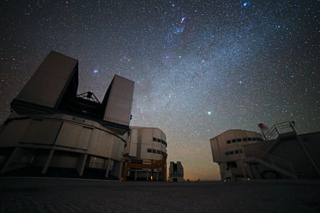 November night at Paranal