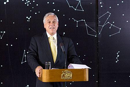 President of Chile Announces Transfer of Land for the E-ELT