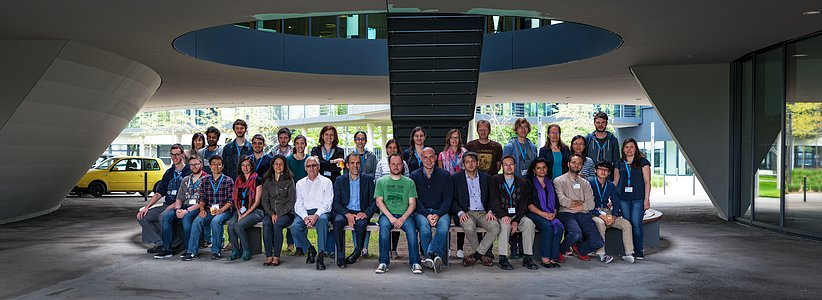 Group photo at the ESO/Opticon Data Reduction School