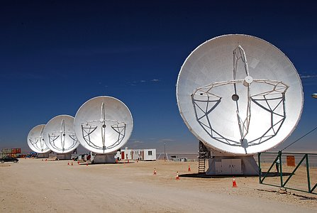 Japanese ALMA antennas