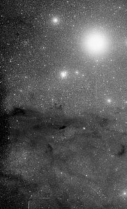 The Jewel Box cluster and the Coalsack Nebula