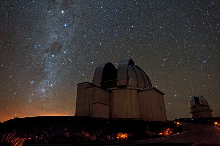 Starry skies above La Silla