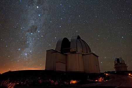 Starry skies above La Silla