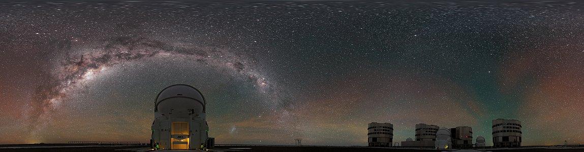 Panoramic Paranal perspective