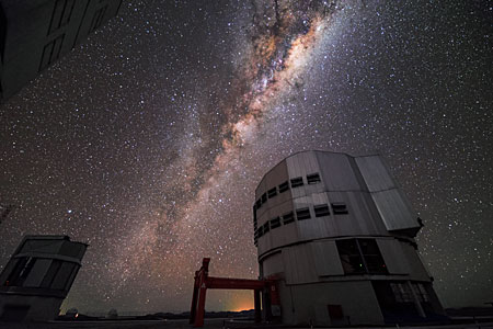 Milky Way above VLT