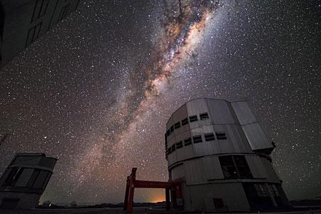 Milky Way above VLT