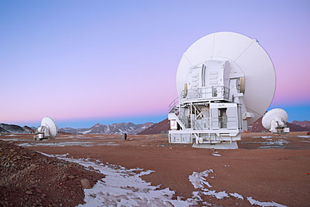 Early morning at ALMA