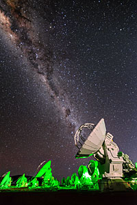 ALMA emits the Milky Way