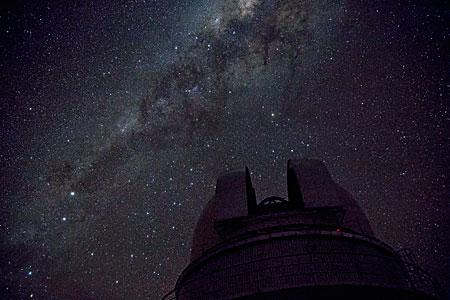 The Milky Way above La Silla