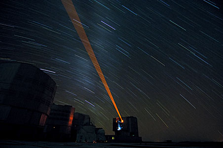 ESO VLT Laser Guide Star