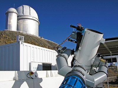 The 25cm TAROT telescope
