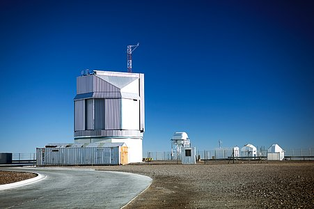 The VST at Paranal Observatory
