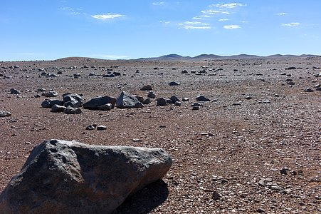 Dry surroundings of Paranal