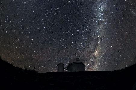 La Silla under the Milky Way