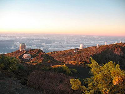 Roque de los Muchachos Observatory at La Palma
