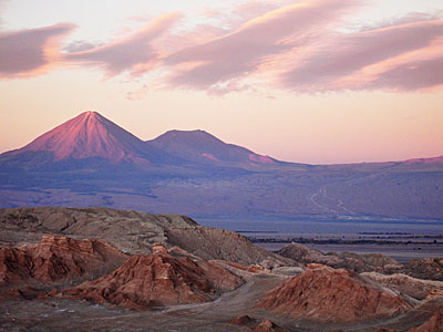 Licancabur Dominates the Sky