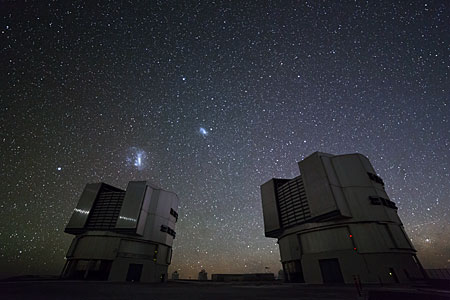 VLT at Night