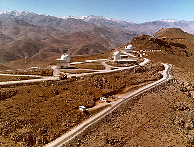 The Southern Part of La Silla