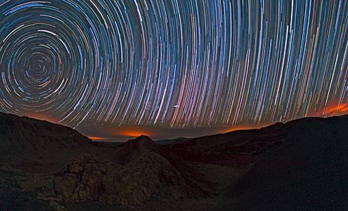 Startrails over the Atacama