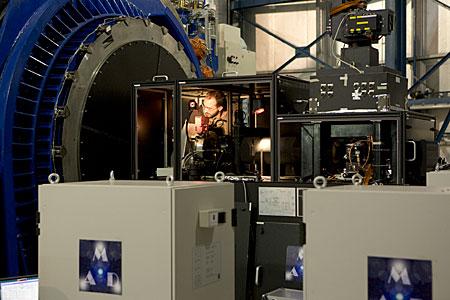 Multi-Conjugated Adaptive Optics Demonstrator (MAD)