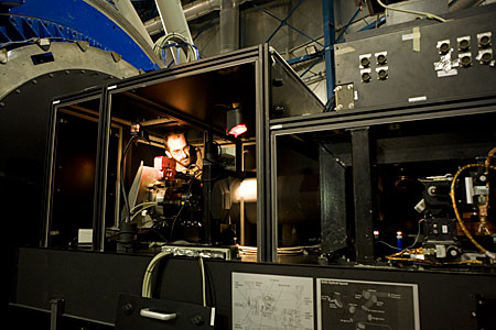 Multi-Conjugated Adaptive Optics Demonstrator (MAD)
